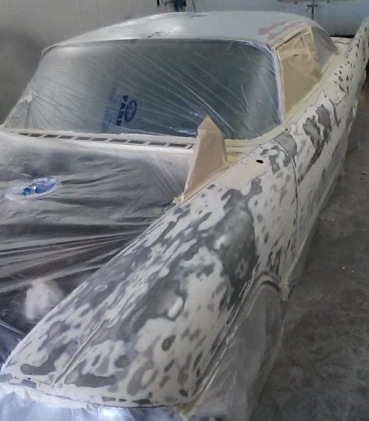 Plymouth Fury Masked up